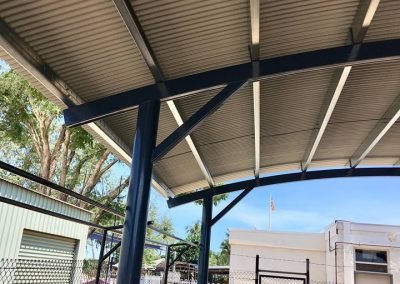 Curved Verandah Roof